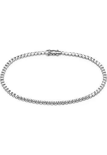 CHRIST Damen-Armband 585er Weißgold 20 Diamant One Size 87779751
